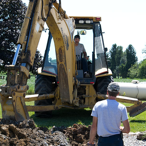 Hollinger Excavating Residential Services